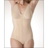 Post Partum Body Shaper with Bra, Brief Length